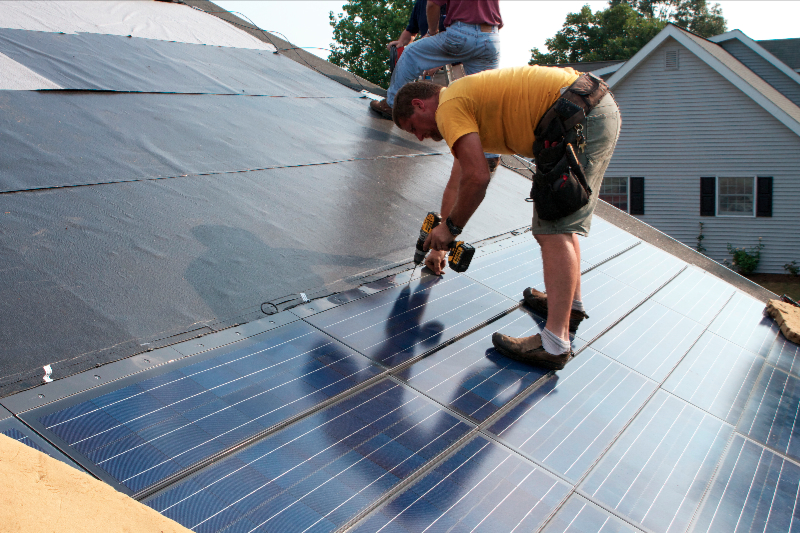 Solar Panel Roof Shingles >> Solar Shingles Century Home Improvements By Century Spouting Inc