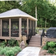 Wood Deck and Patio with Gazebo Construction - York, Lebanon, Harrisburg, Lancaster, Elizabethtown, Pennsylvania